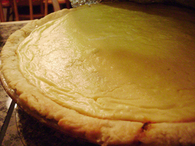 Donna's cheese and onion pie