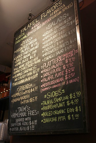 Food Menu Board