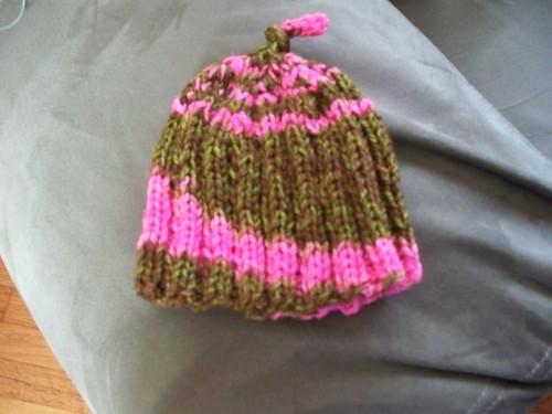 Baby hat in Duet Sock Yarn