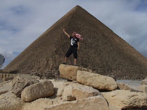 Egypt Pyramid Cheops and Nijat