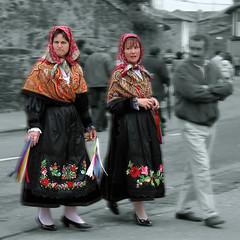 Feria de Luyego de Somoza, maragatas