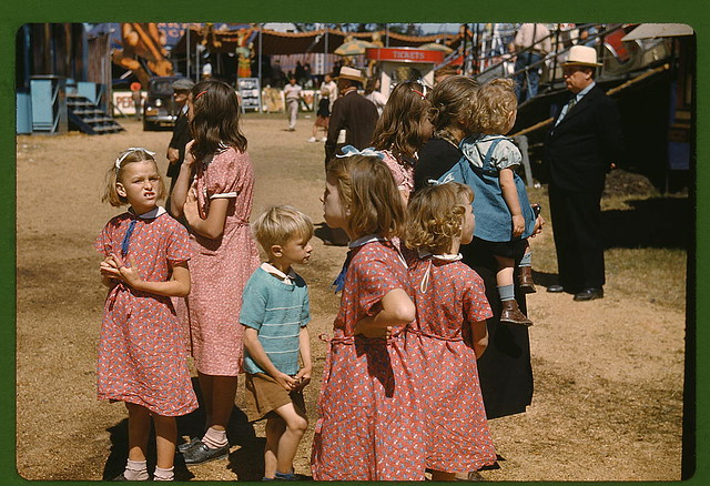 At the Vermont state fair, Rutland (LOC)