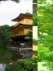 Temple of the Golden Pavillion - CF card crash version (mrjorgen) Tags: kyoto japan goldenpavillion temple templeofthegoldenpavillion cfcardcrash accident mistake minicardkandidat moocardkandidat kinkakuji