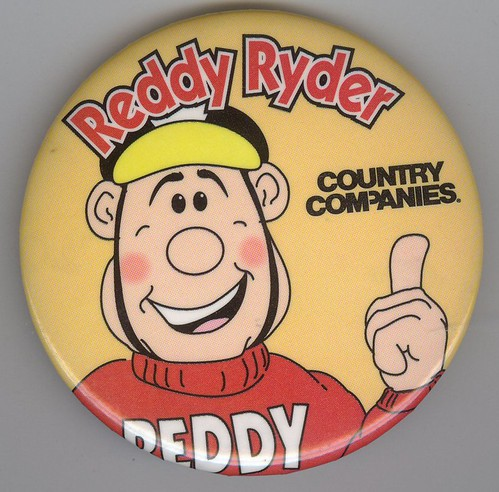 Reddy Ryder Button