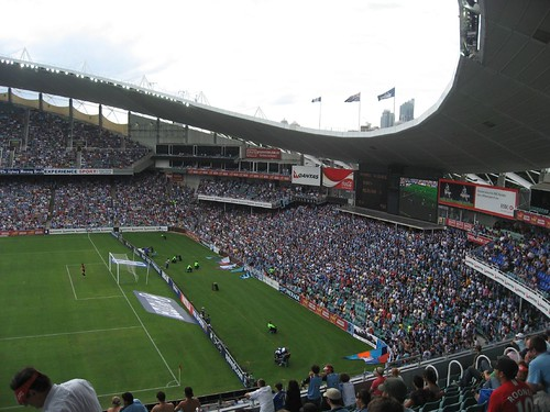 Sydney FC fan section
