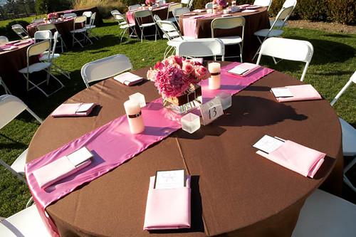 2220497909 1e033b88cb d Baú de ideias: Decoração de casamento rosa e marrom I