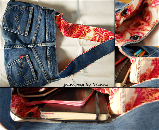 Jeans bag might be yours
