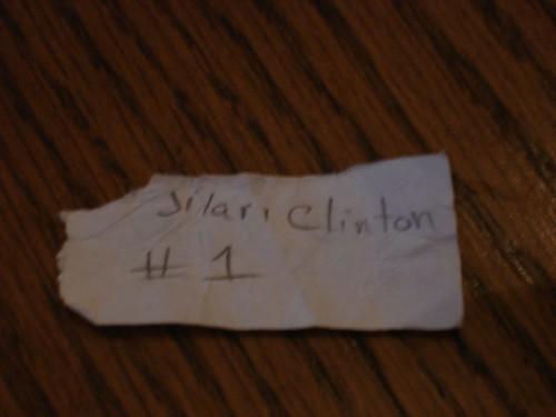 Jilari Clinton #1