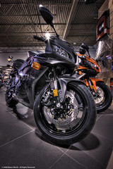 Star City Motor Sports - HDR (Robert Wurth (Zuiun) - Studio Orange Photography) Tags: honda nebraska motorcycles bikes lincoln sportbike hdr sigma1020mmf456exdchsm explored 6xp canon40d starcitymotorsports