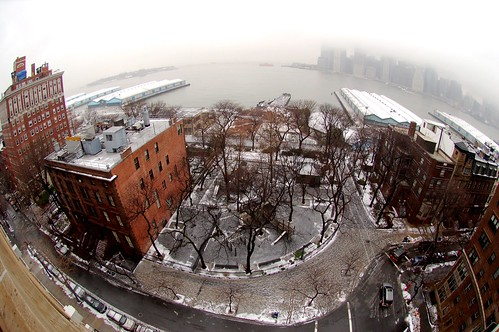 Fisheye view from my terrace