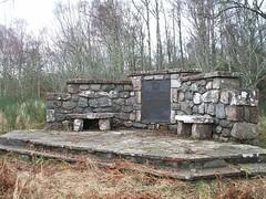 MacBean (MacBain) Memorial Kinchyle Dores Loch Ness-side Scotland