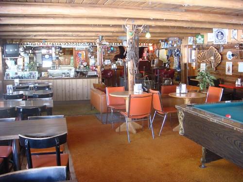 Inside Chute Lake Lodge