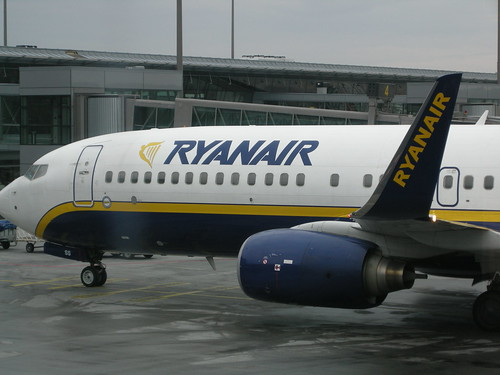 Ryanair airplane (by Aurelijus Valeiša)