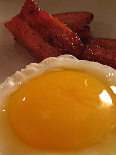 egg yolk close up