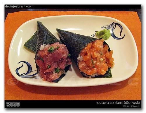 restaurante Banri, temaki