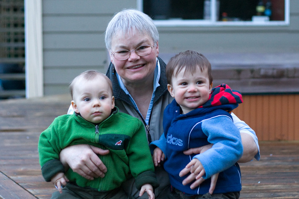 grandma and her boys