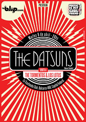 Frente Postal The Datsuns