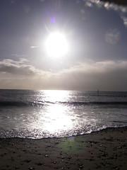 """Year end (Helen """"The Hat"""") Tags: winter sea beach tide devon dawlish southdevon dawlishwarren"""
