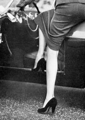 The last Inch (50'sfan) Tags: high skirt heels nylons tightskirt seamed ffns
