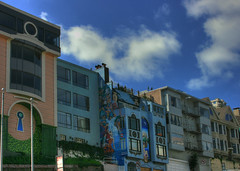 SanFransisco Architecture (jodi_tripp) Tags: sanfrancisco ca sky art clouds painted archetecture joditripp challengeyouwinner wwwjoditrippcom photographybyjodtripp