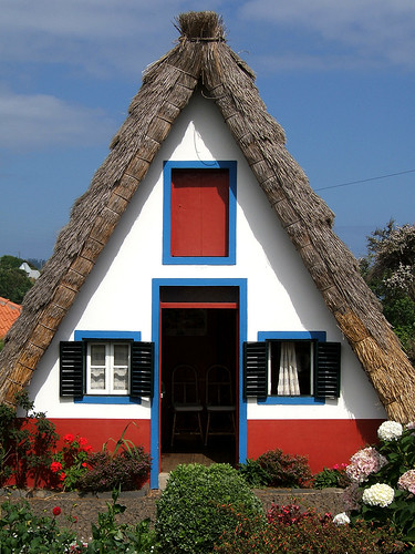 Typical Madeira houses