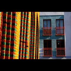 colors of Szczecin III (czorcicho) Tags: color colors stone wall poland polska polen grn mur ror bunt zielony mauer farben pommern szczecin stettin kolory kolor ziegel farbenfroh czerwony ziegelsteine pomorze kolorowy westpommern ziegelrot ceglany cegly pomorzezachodnie ceglowki