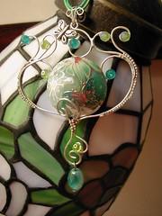 Green Curls Pendant