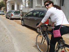Riding... (xwtiko) Tags: trees tree nature bicycle friend ride xania chania  podilato   podilata