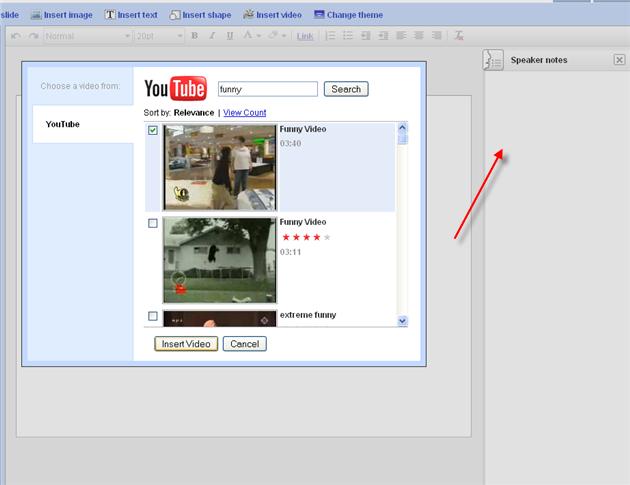 google presentation 2