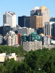 Downtown Calgary (Surrealplaces) Tags: canada building calgary tower skyline skyscraper office high downtown cityscape edificio alberta highrise rise wolkenkratzer rascacielo gratteciel
