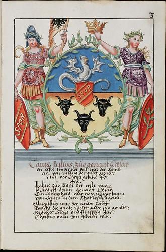 Wappenbuch des Hans Ulrich Fisch c