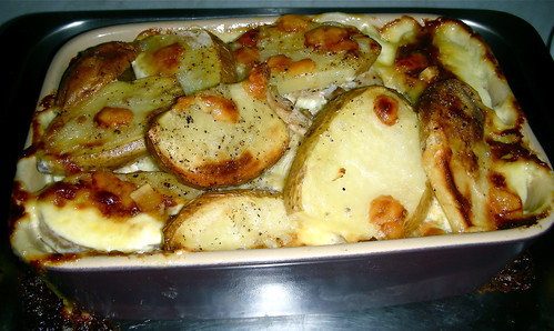 potato and chicken bake