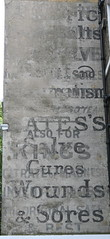 Ghost sign (tommyajohansson) Tags: london sign geotagged bloomsbury regentsquare ghostsign faved tommyajohansson chemistsmedicalhealth ga00334