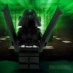 Psychlops (Morgan190) Tags: halloween computer scary technology lego creepy minifig custom virus m19 minifigure ghostinthemachine brickforge morgan19