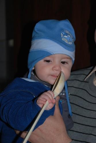 Robert si lingura de lemn