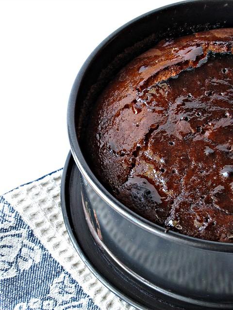 Torta Appiccicosa agli Agrumi, con Miele al Gelsomino
