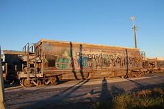 CF 1234 Awatoto (AA654) Tags: newzealand wagon graffiti rail dirty railcar nz weathered fertilizer 1234 napier cf awatoto 1000000railcars kiwirail