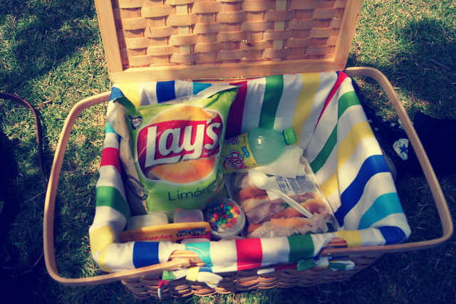 our new picnic basket