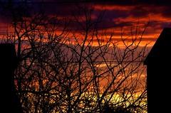 Incendie (domiloui) Tags: clouds ciel lumiere lorraine aurore ambiance nuances lothringen cooliris nomeny abaucourt blinkagain