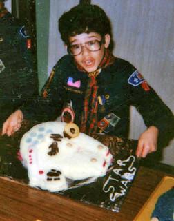 Chris Pirillo bakes Nerd Cakes