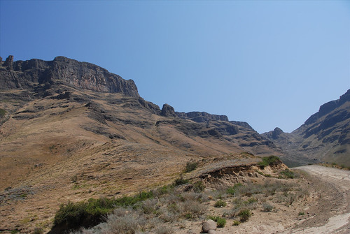Scenery along the Sani Pass