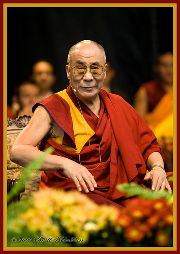 His Holiness, the Dalai Lama