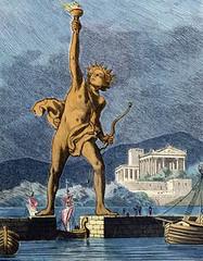 The Colossus of Rhodes (Wonders _) Tags: rhodes greekmythology greekgods dodecanese sevenwondersoftheworld dodecaneso ancientgreeks rhodesgreece thesevenwondersoftheancientworld thecolossusofrhodes setemaravilhasdomundo colossoderodes heliosgod sevenwondersancientworld