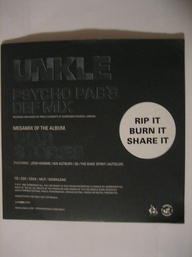 UNKLE - Psycho Pab's Def Mix