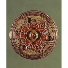 Brooch (fibula), Anglo-Saxon, 7th century. Museum no. M 110 1939 Faversham