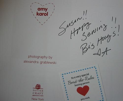 Amy signed my copy!