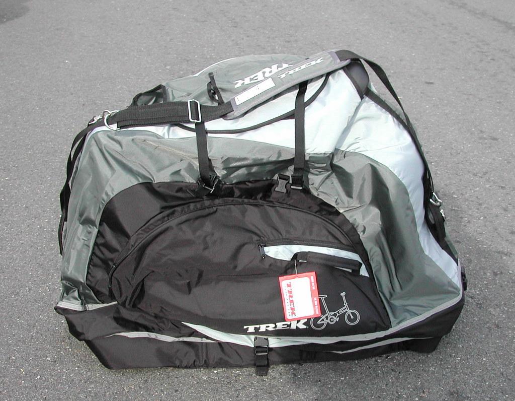 $50 buys this Trek Folding Bike Bag