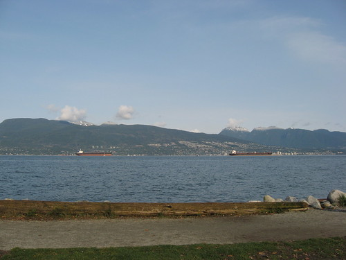 Spanish Banks Looking Across to North Shore