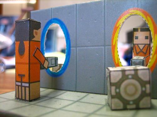 Maqueta de Portal juego