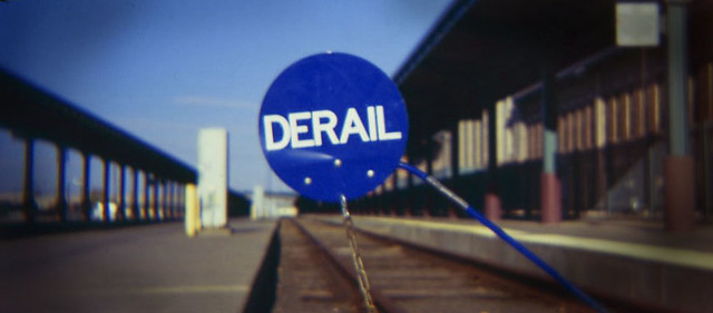 Derail in Blue